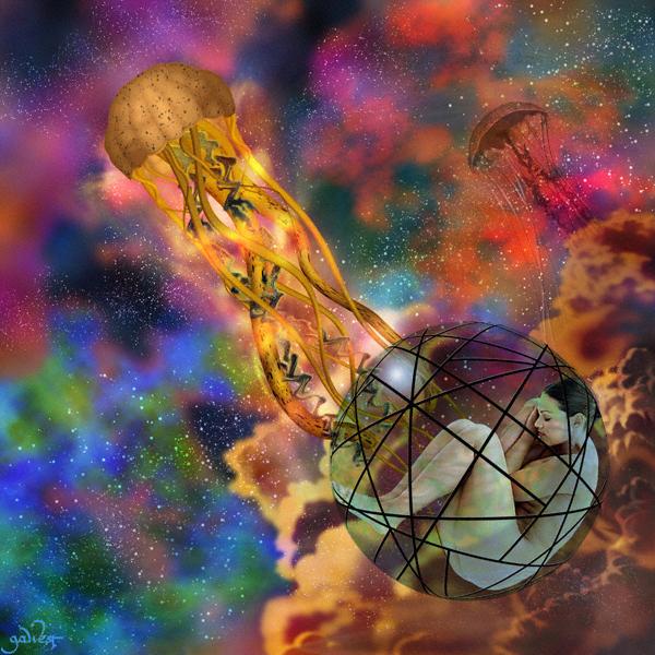 Jellyfish Nebula Image